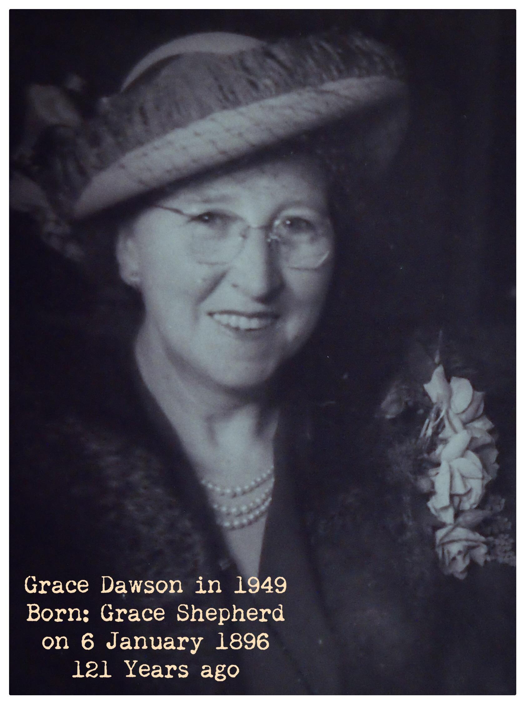 Grace Shepherd DOB 1896