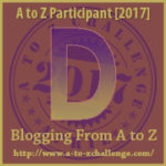 A to Z Challenge 2017 Letter D - Key word