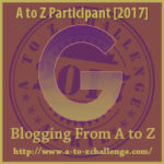 Opens at the A to Z Challenge Web Site