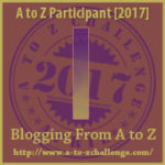 A to Z Blogging Challenge Website