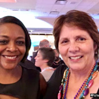 Kenyatta Berry with me at the MyHeritage RootsTech Function