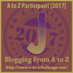 Opens at the A to Z Challenge Website
