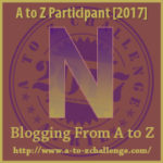 Opens at the A to Z Blogging Challenge 2017 Website