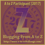 Opens at the A to Z Blogging Challenge Website