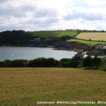 #AtoZChallenge L for Landscape – Near Falmouth in Cornwall.