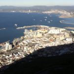 B is for Background – Rock of Gibraltar