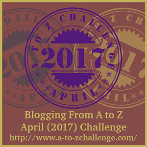 Goes to A to Z Challenge 2017 website