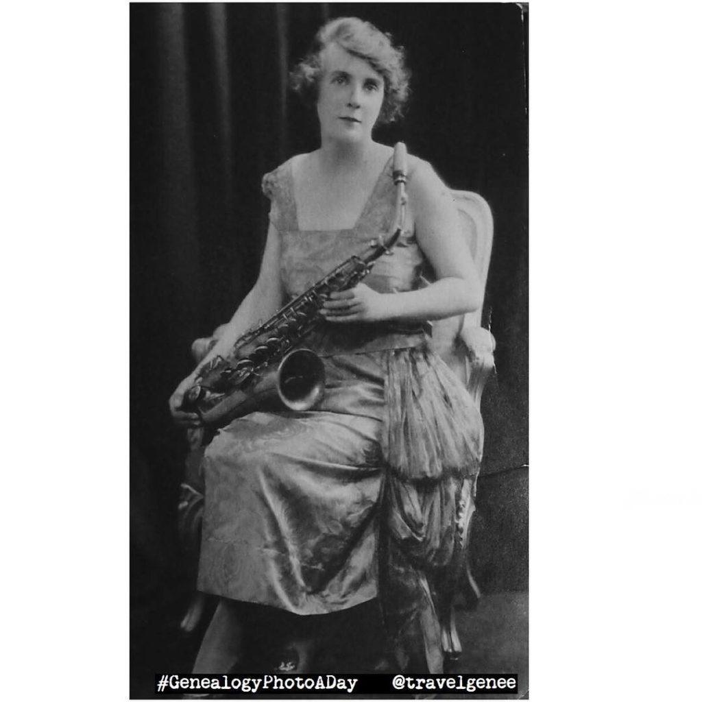 Mabel Dawson, saxophonist.