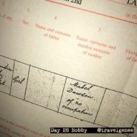 #AtoZChallenge H for Hobby: Family History