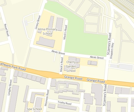 Modern Map: OpenStreetMap®