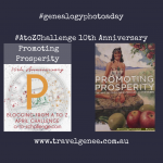 AtoZChallenge Promoting Prosperity