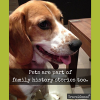#AtoZChallenge R for Ralph a family history pet story.