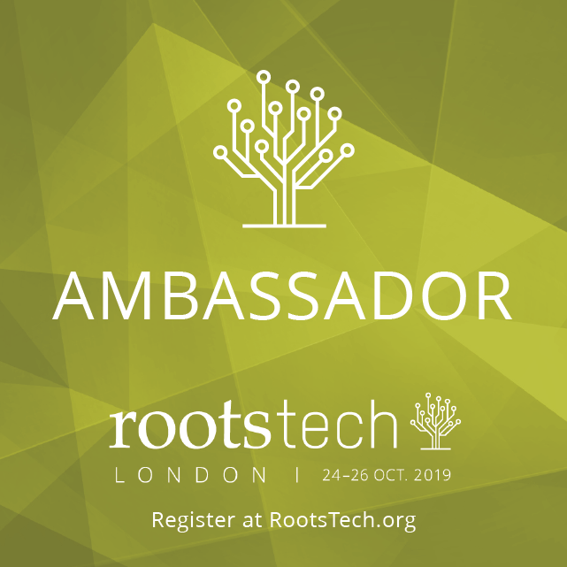 RootsTech London Ambassador Badge