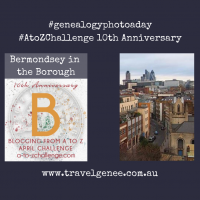 AtoZChallenge Bermondsey in the Borough