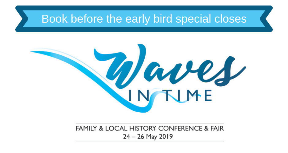 Book now to meet experts at Waves in Time 209