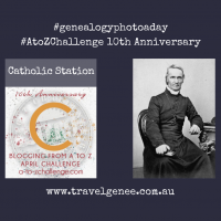 #AtoZChallenge Catholic Station