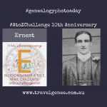 #AtoZChallenge Ernest James Ireland