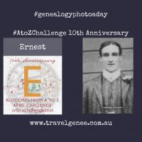 #AtoZChallenge Ernest James Ireland