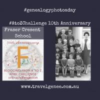 AtoZChallenge Fraser Crescent School