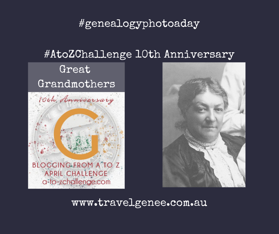 AtoZChallenge Great Grandmothers deathly coincidence