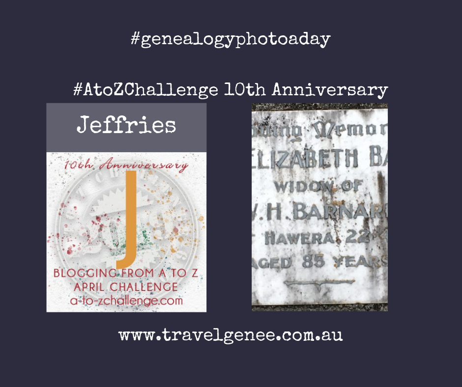 AtoZChallenge Jeffries