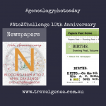 AtoZChallenge-Newspapers