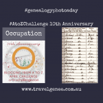AtoZChallenge Occupation