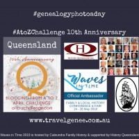 AtoZChallenge Queensland Waves in Time Conference