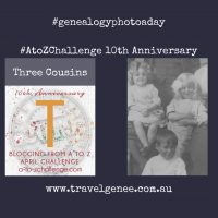 AtoZChallenge Three Cousins
