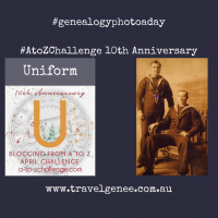 AtoZChallenge Uniform