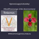 AtoZChallenge Veteran