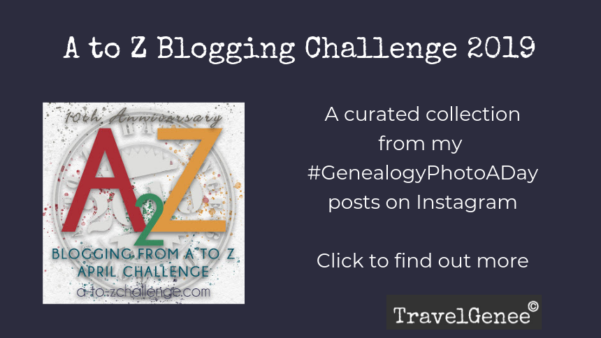 A to Z Blogging Challenge
