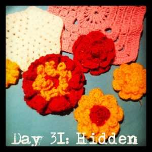 Found: unfinished bits of crochet