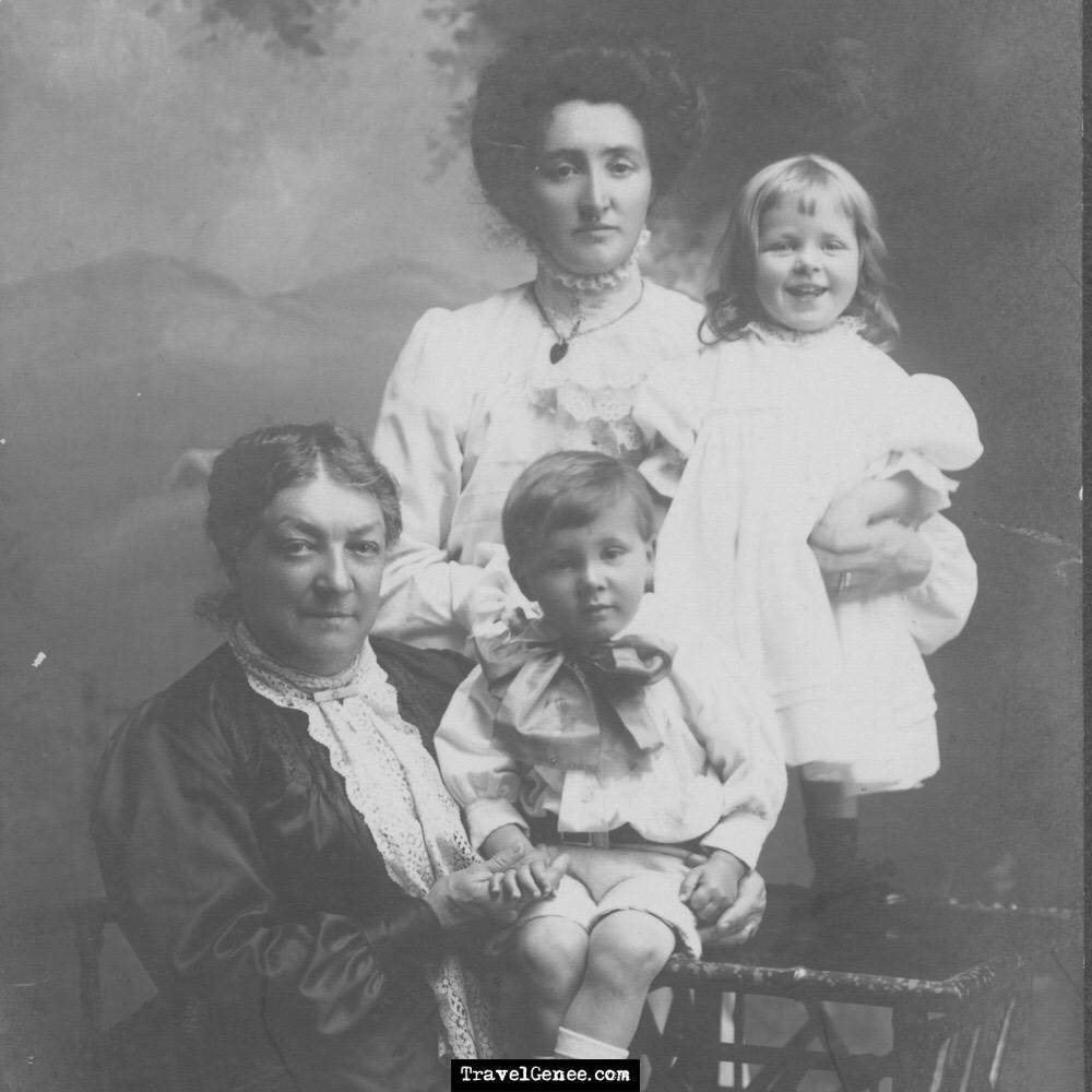 AtoZChallenge Great Grandmothers: Mary Scott McDonald & Family