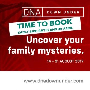 DNA Down Under Early Bird Special