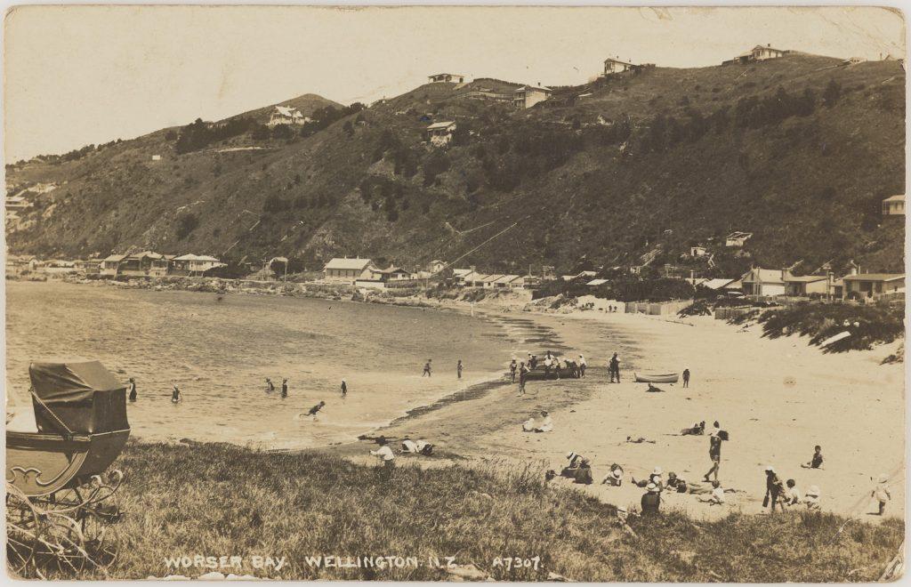 Worser Bay Postcard
