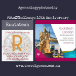 AtoZChallenge Rootstech London Ambassador