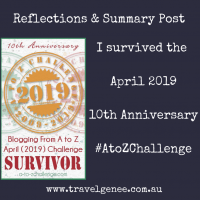 AtoZChallenge Reflections Post
