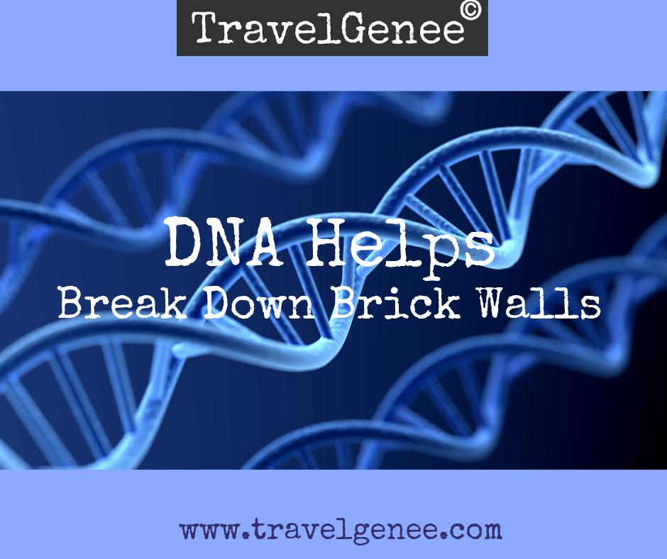 DNA helps break down brick walls