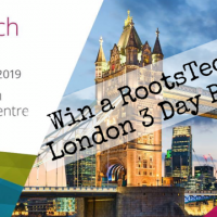 RootsTech London Win a 3 day pass