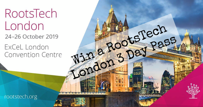 TravelGenee RootsTech London 3 Day Pass Giveaway