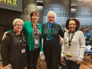 Jill Ball, Fran Kitto, Pauleen Cass & Sharn White