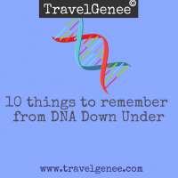 10 things to remember from DNA Down Under