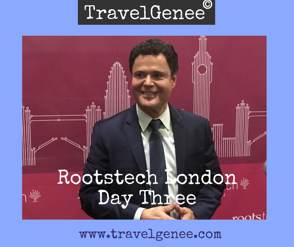 RootsTech London Day 3: Donny Osmond comes to RootsTech
