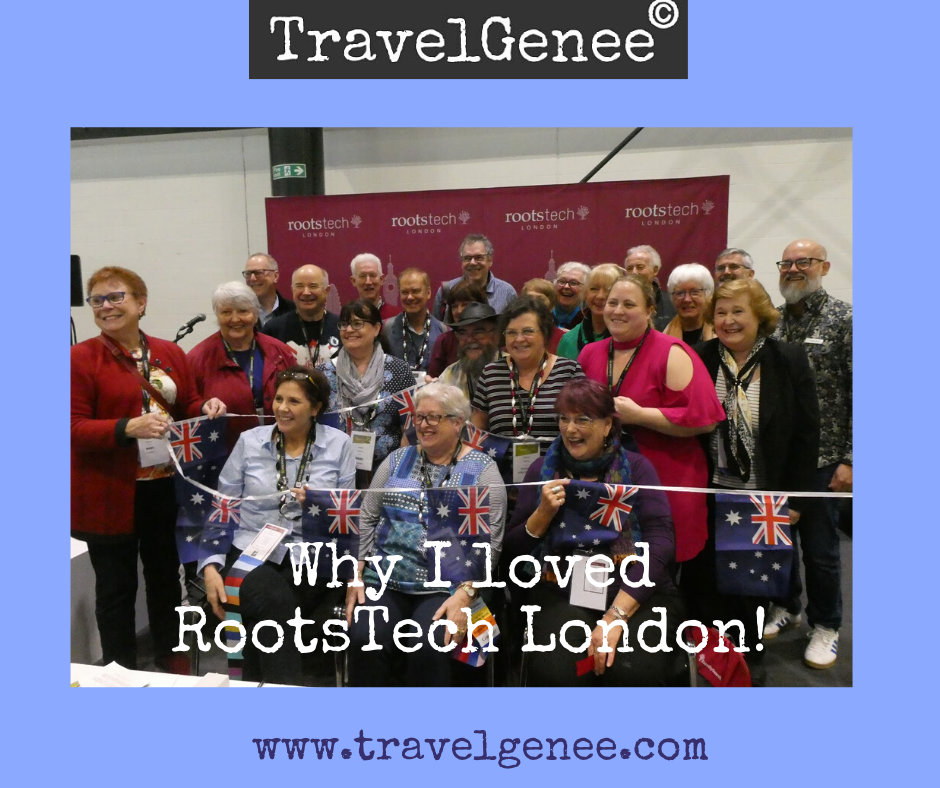 Why I loved RootsTech London!