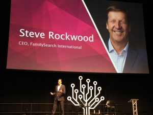 Day Two RootsTech London with Steve Rockwood -FamilySearch International CEO