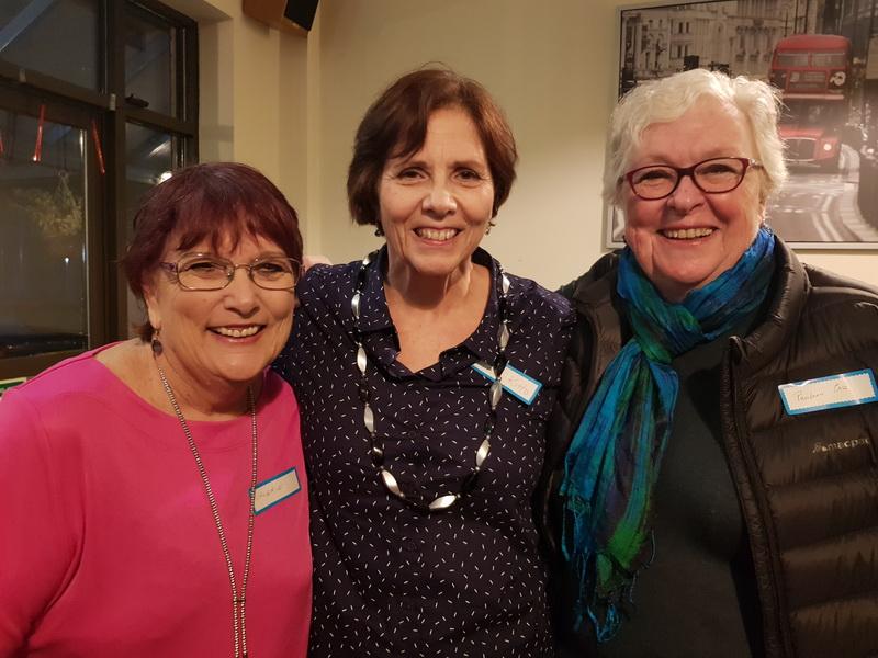Valerie Thornton (L), Fran Kitto (Middle) & Pauleen Cass (R)