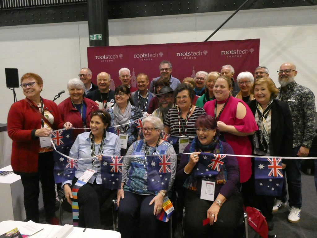 Aussies at RootsTech London