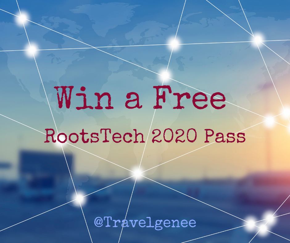 Win a Free RootsTech 2020 Pass with TravelGenee