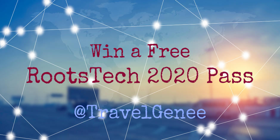 Win a Free RootsTech 2020 Pass with TravelGenee ($299 Value)